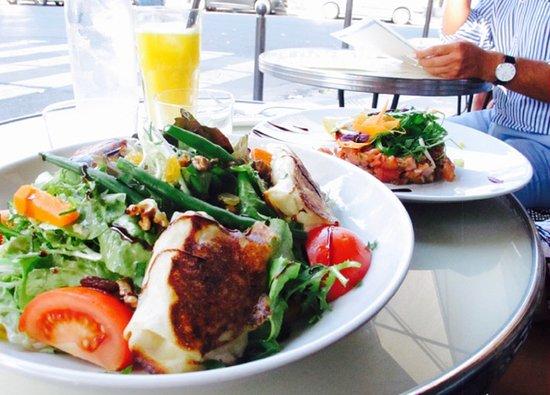 La Seine Cafe: Nos salades et tartares