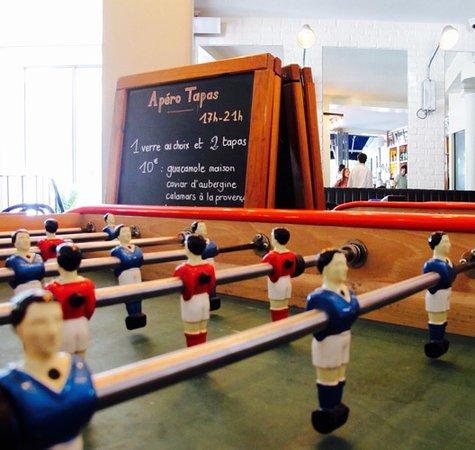 La Seine Cafe: Notre Baby Foot