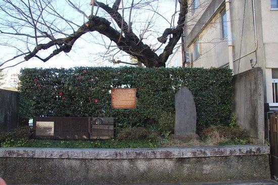 Koizumi Yakumo Shuen no Chi Monument