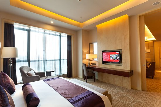 Xiangyang, Chiny: Crowne Plaza Deluxe Suite