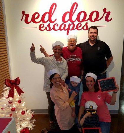 ไบรอันต์, อาร์คันซอ: Red Door Escapes is fun for all ages!