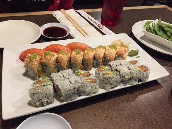 Asuka sushi hibachi japanese restaurant 7912 earhart for Asuka japanese cuisine