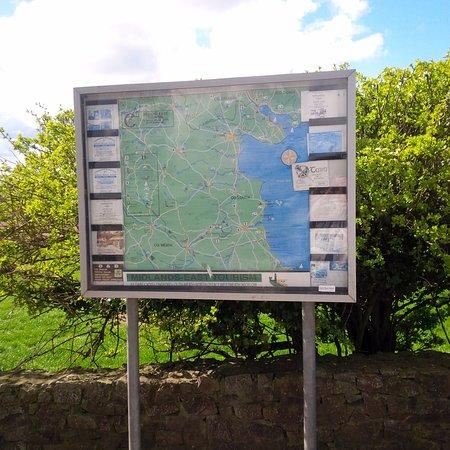Donore, Irlandia: mapa do local