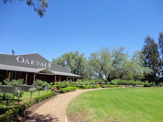 Oakvale Wines : entrata