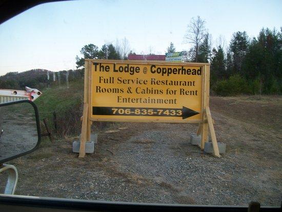 Copperhead Lodge: Old photo