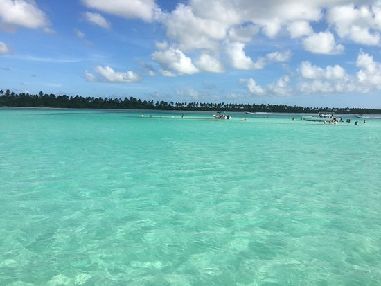 Dressel Divers Bayahibe: View from the Saona Island excursion boat.