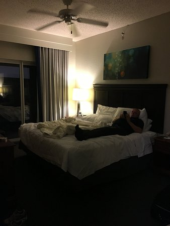 Homewood Suites New Orleans The King Bedroom In Our Two Suite Had A