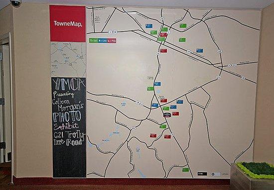 Aiken, Karolina Południowa: TowneMap