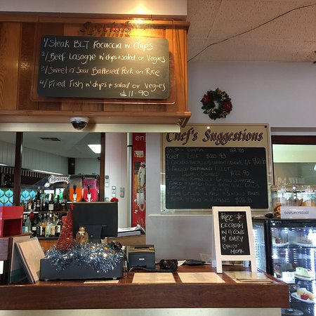 Benalla, Australia: The restaurant