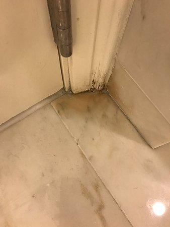 The Ritz-Carlton Orlando, Grande Lakes: Mould or whatever! Yuck!
