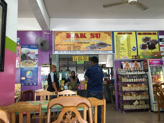 Kuala Perlis, Malaysia: Kak Su Laksa