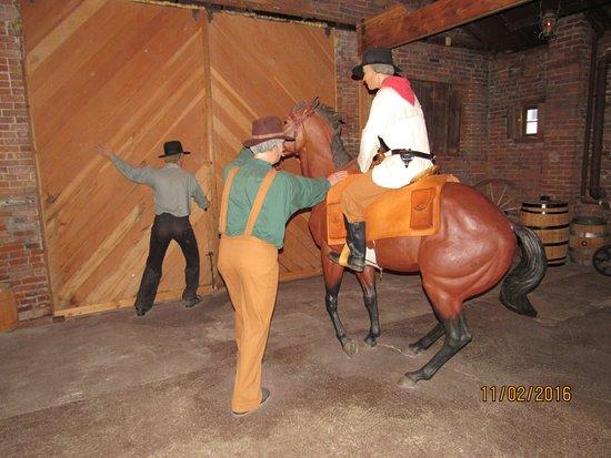 Pony Express Museum: display