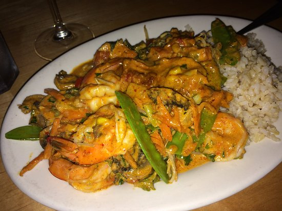 Rutland, VT: Thai Red Curry with Shrimp