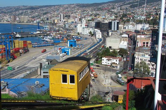 Excursion à Valparaiso et Vina del Mar