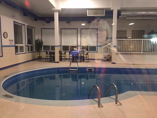 Pool area, Comfort Inn & Suites, 22 Dracup Ave N, Yorkton, Saskatchewan