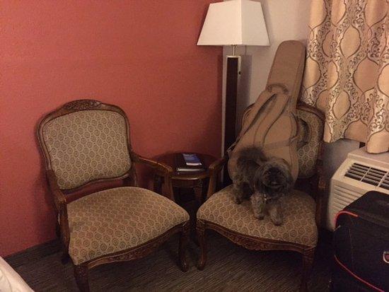 Sitting area, Comfort Inn & Suites, 22 Dracup Ave N, Yorkton, Saskatchewan
