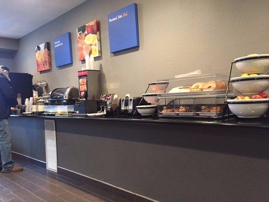 Continental breakfast, Comfort Inn & Suites, 22 Dracup Ave N, Yorkton, Saskatchewan