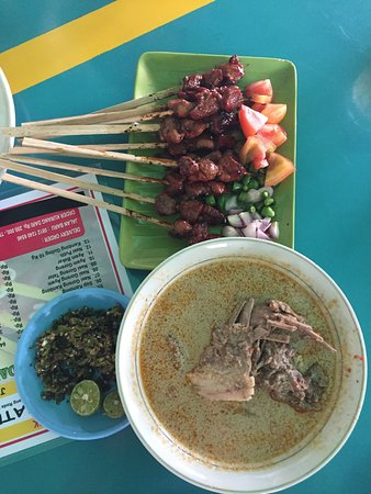 Sate Kiloan Sentul: Sate kiloan psk hmm not that good 