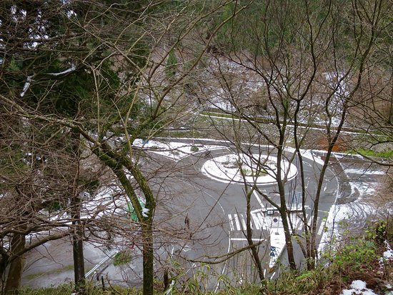 Hieizan Driveway: ロータリー