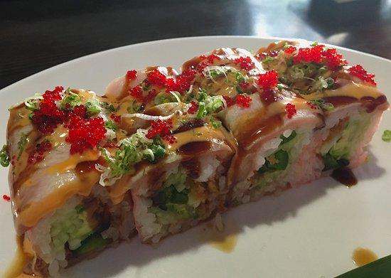 Pittsfield, MA: Fantastic specialty maki rolls