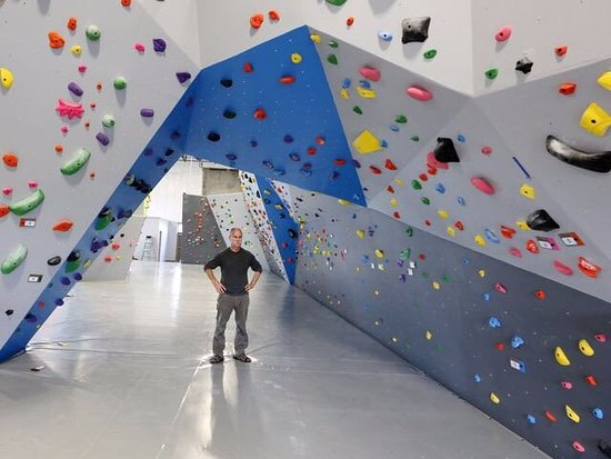 The Rock Boxx Climbing Gym