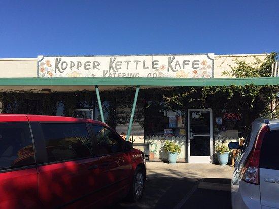 front entrance of Kopper Kettle Kafe