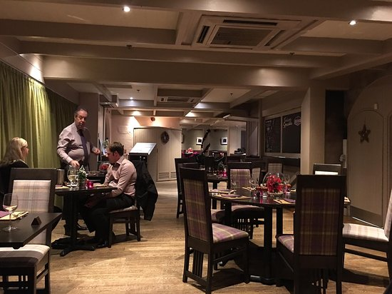 Inverurie, UK: Part of the dining room which is much bigger than it shows here.