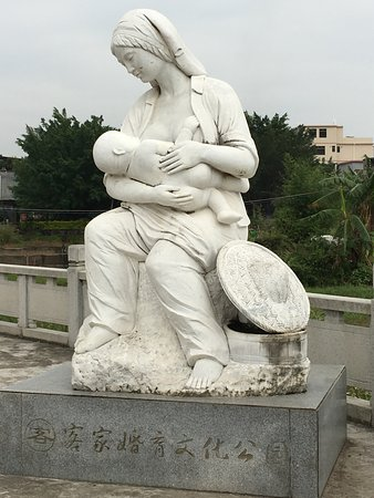 Dongyuan County, Chine : Fertility Statue