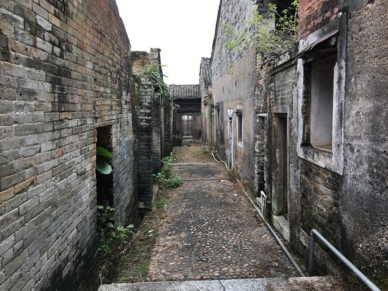 Dongyuan County, Chine : Alley