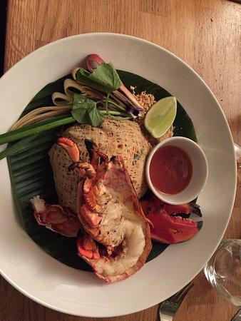 لوند, السويد: lobster con noodles