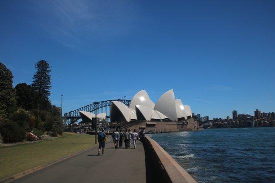 The Opera House to the Botanic Gardens Walk