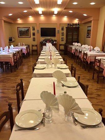Santa Margherita di Staffora, Italie : Albergo Bar del Pino