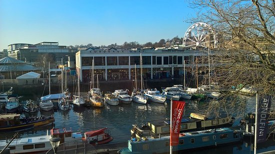 View of Bristol Harbour from the Arnolfini