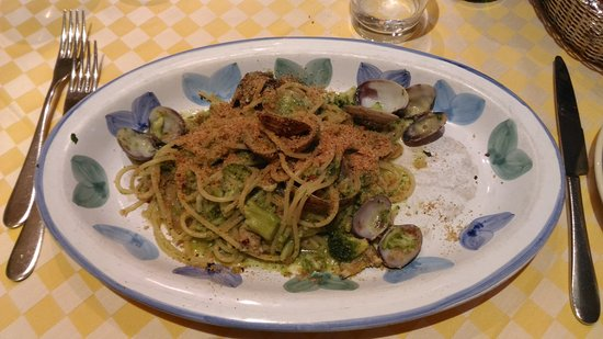 Siciliainbocca al Flaminio : Spaghetti alla panarellese