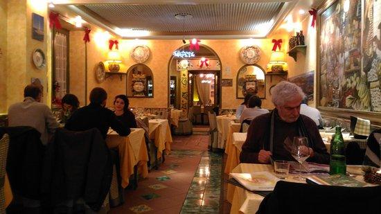 Siciliainbocca al Flaminio : L'interno del ristorante