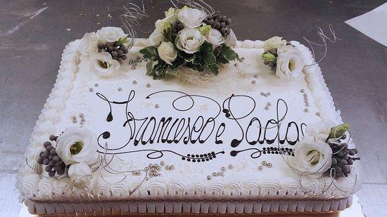 Costalpino, Italia: Torta 25 Anni Matrimonio
