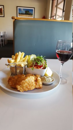 Wickepin, Australia: Fish n chips