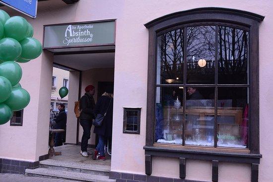 Alte Apotheke - Absinth und Spirituosen