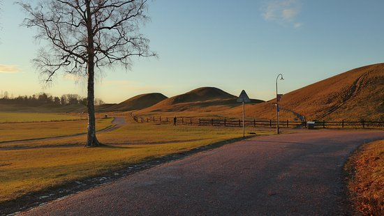 Uppsala, Sweden: come here to see a sunset