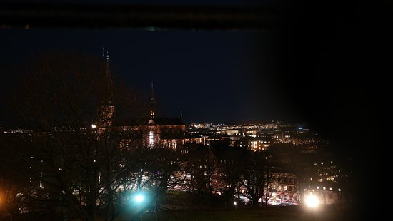 Uppsala, Swedia: a view from the above
