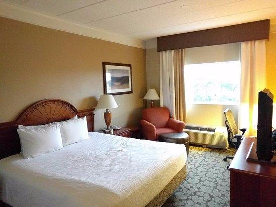 hilton garden inn bostonwaltham standard room with king bed - Hilton Garden Inn Waltham