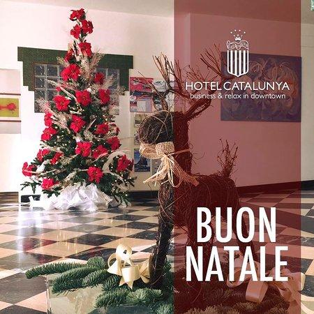 Buon Natale 1a.Auguri Di Buon Natale Dall Hotel Catalunya Foto Di Hotel