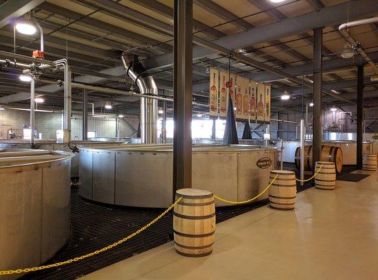 Lawrenceburg, KY: Fermenting room