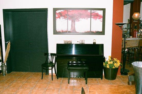 Danaos Hotel: Γωνιά πιάνου