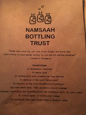 Excellent place! - Picture of Namsaah Bottling Trust