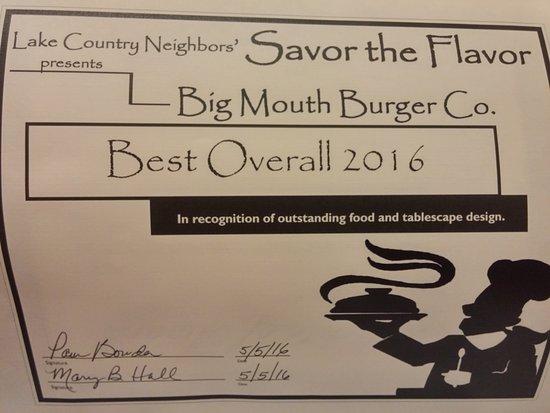 Emory, TX: Food Award