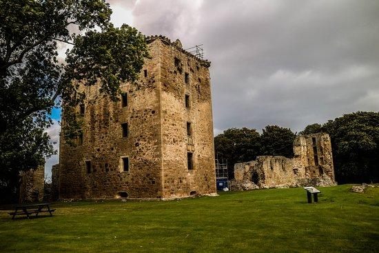Elgin, UK: Castle ruins
