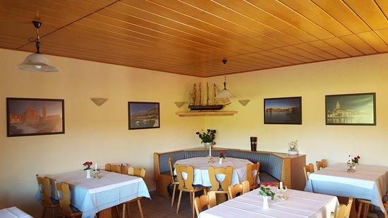 Riedstadt, Deutschland: Der Gastraum (Erdgeschoss)