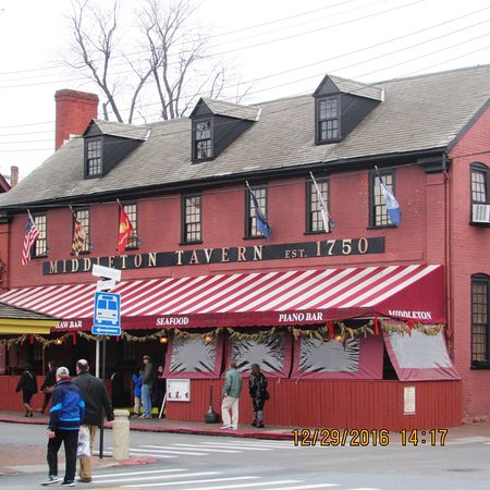 Middleton Tavern: 4th Oldest Tavern in the US
