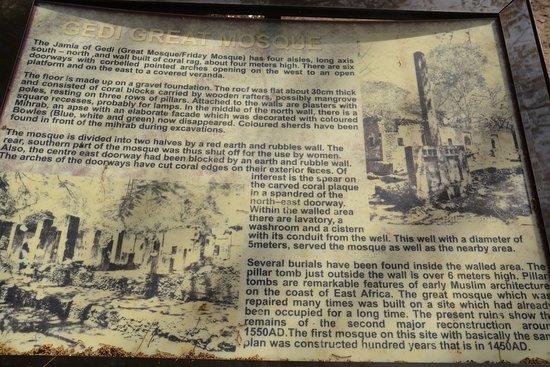 Historien om Gede Ruins